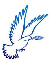 Barış sembolu  güvercin  (barış elçisi)