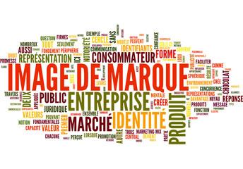 Image de marque (tag cloud français)