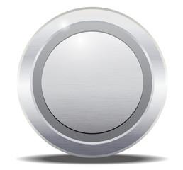 Round Button Metal Texture
