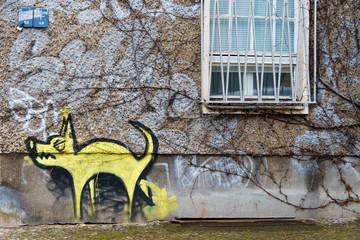 Graffito Dog