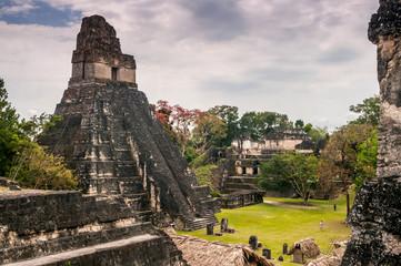 Tikal Main Plaza