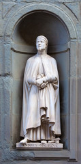 stone statue of Andrea Orgagna