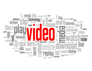 """VIDEO"" Tag Cloud (watch play view now click here button)"
