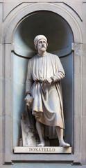 stone statue of Donatello