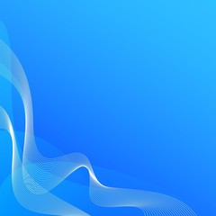 blue energy lines background