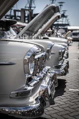 Front of classic car