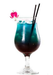 tropical fruit juice coktail