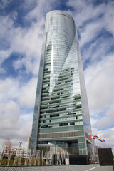 Madrid - Skyscraper Torre Espacio.
