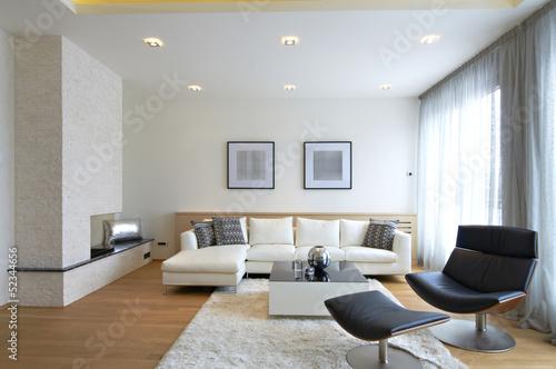 Стиль гостинная диван светлая  № 87423  скачать