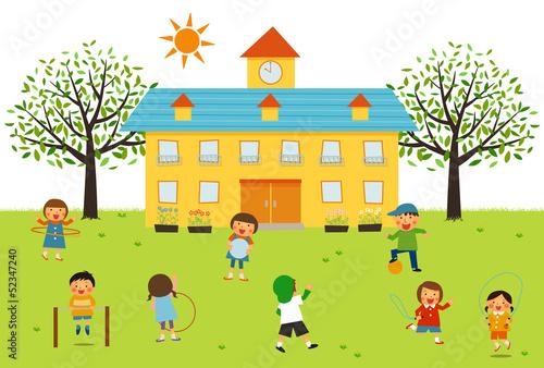 保育園外遊びfotoliacom の ストック写真とロイヤリティフリーの画像
