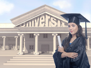 Lady Graduate