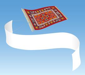 Magic Carpet in the Air ( Fliegender Teppich in der Luft )