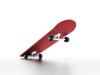 Skateboard rendered
