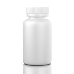 Medicine bottle unlablled