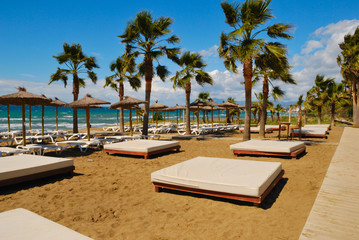 Beach resort located in Marbella (Spain)