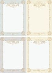Certificate 1v