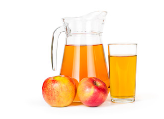 Fototapete - Apple juice