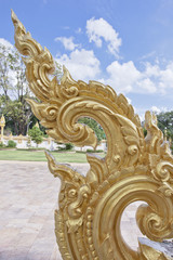 The thai style molding