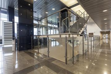 Aluminium Prints Airport Inside an office