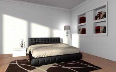 modern bedroom interior | Wohndesign