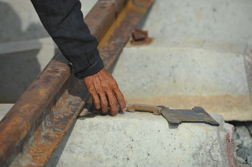 Renovation ligne de chemin de fer