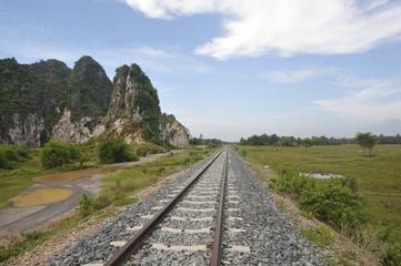 Rails et paysage