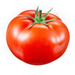 Fototapeta tomato isolated on white obraz