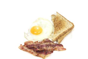 oeuf et bacon