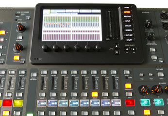 Digital audio console