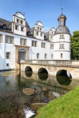 Eingang Schloss Neuhaus bei Paderborn, Deutschland