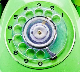 Traditional phone keypad