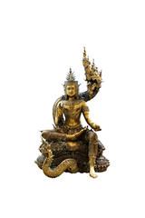 Brass graven image