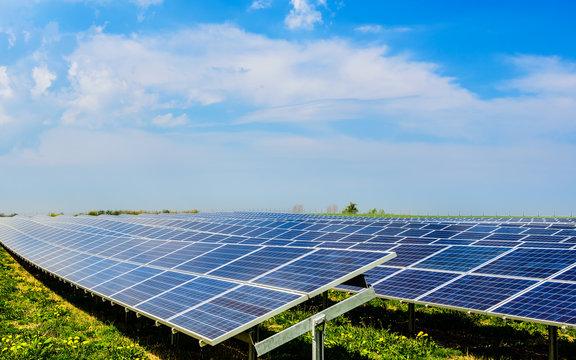 Solarzellen Photovoltaik Anlage 2
