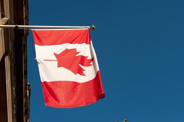 Canadian National Flag, Canada House, London.