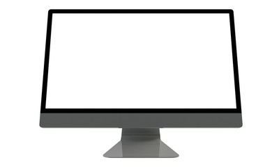 an illustration of a flat screen television or computer screen