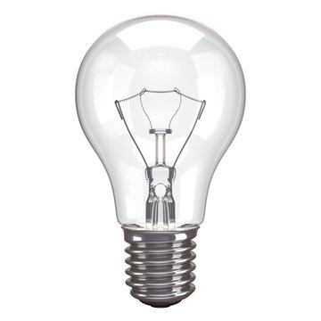 Lamp White Background