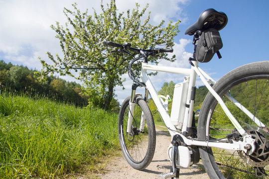e-bike, pedelec, akku, fahrrad, mountainbike