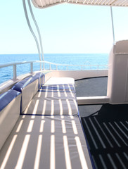 Yacht sailboat exterior