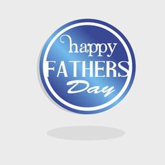 happy fathers day logo