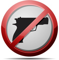 No weapon sign