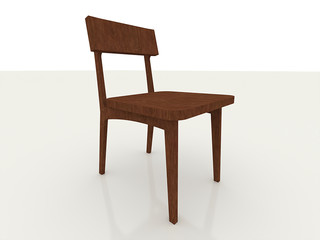 Chair classic wood