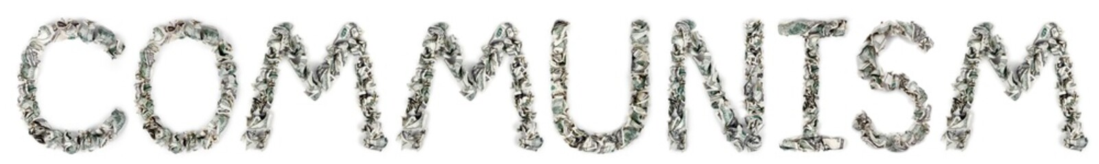 Communism - Crimped 100$ Bills