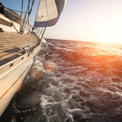 Fototapete - Sailing in Greece