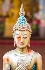 rusty Buddha image