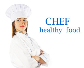 prosperous female cook