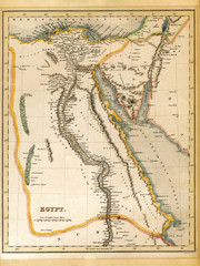 Palestine Israel 19th Century Map