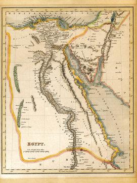 Palestine Israel 19th Century Map