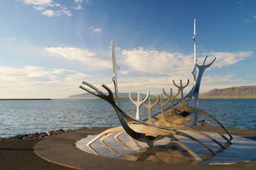 Sculpture of a ship