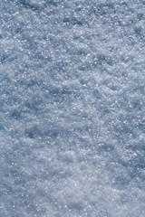 white snowflakes  background, rough pattern of snow texture