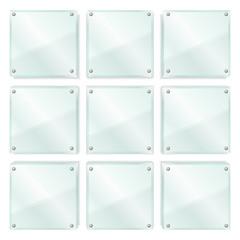 Transparent Glass Frames